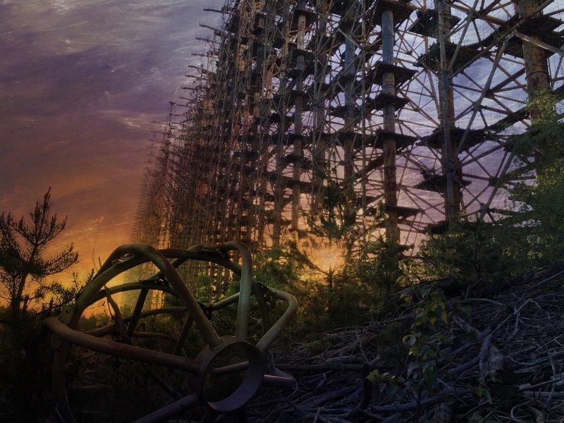 ЗГРЛС «Дуга–1» — забытый объект Чернобыльской зоны отчуждения