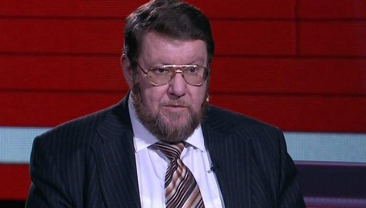 «Не сдержался»: Сатановский поставил на место украинского эксперта в прямом эфире