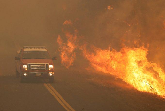 В Калифорнии объявлено чрезвычайное положение из-за лесных пожаров