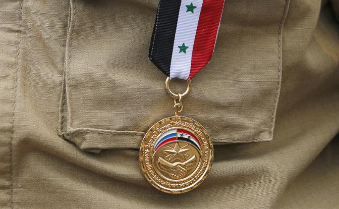 Награды за войну в Сирии: Цирк, да и только!