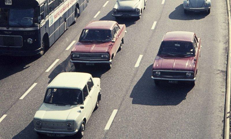 Автомобильная Финляндия прошлого