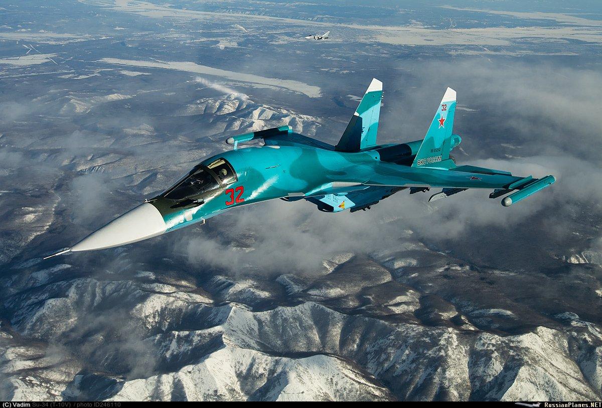 Ночной полет Су-34 удивил экспертов из США