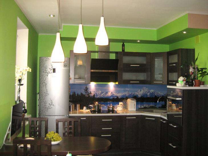 Кухня, совмещенная с залом, коридором и прихожей