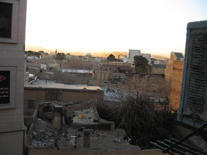 6. Иран Отель, вид из окна, вид из отеля, путешествия, туристы, фото
