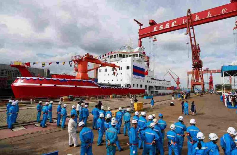 Китай построил и ввел в эксплуатацию своего первого «Снежного дракона»