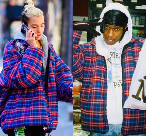 Модная битва: Дуа Липа против Asap Rocky