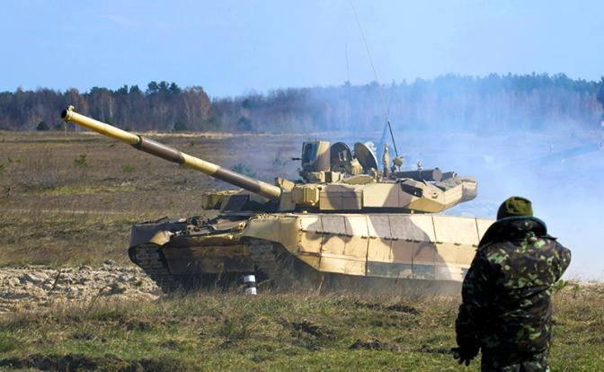 Киев разворачивает танки на восток