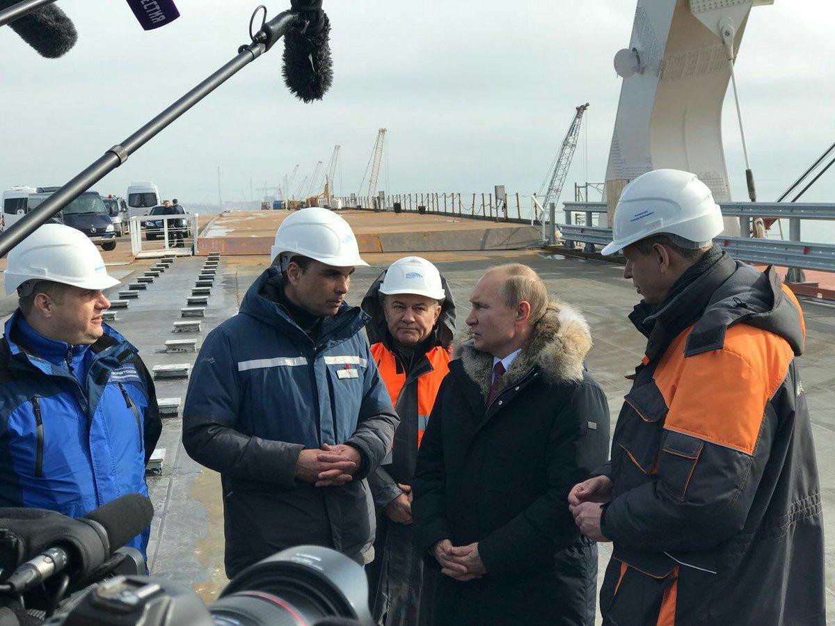 Опасная провокация на Крымском мосту