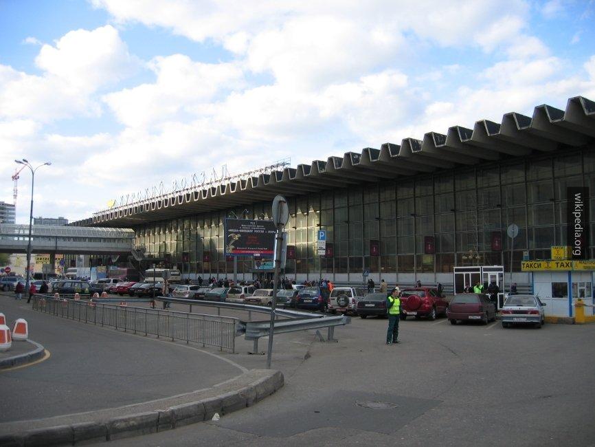 Курский вокзал в Москве эвак…