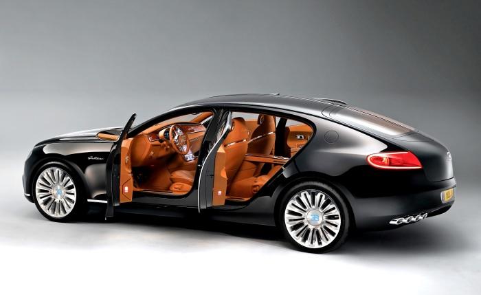 Новая попытка Bugatti создать самый роскошный в мире седан.