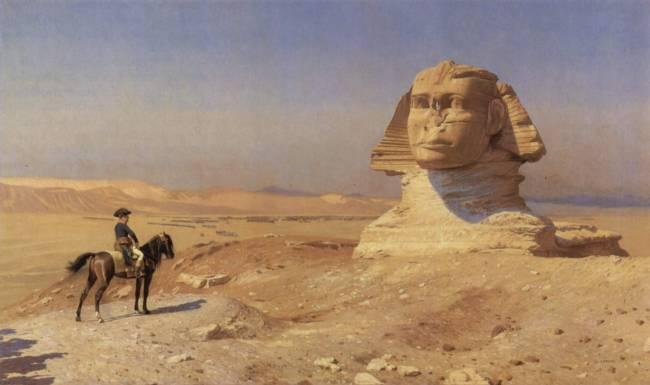 Что Наполеон искал в Египте?
