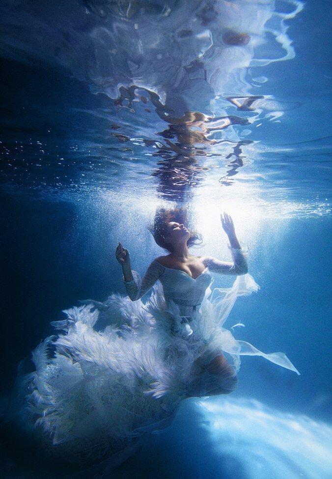 Очарование подводных фото фотография