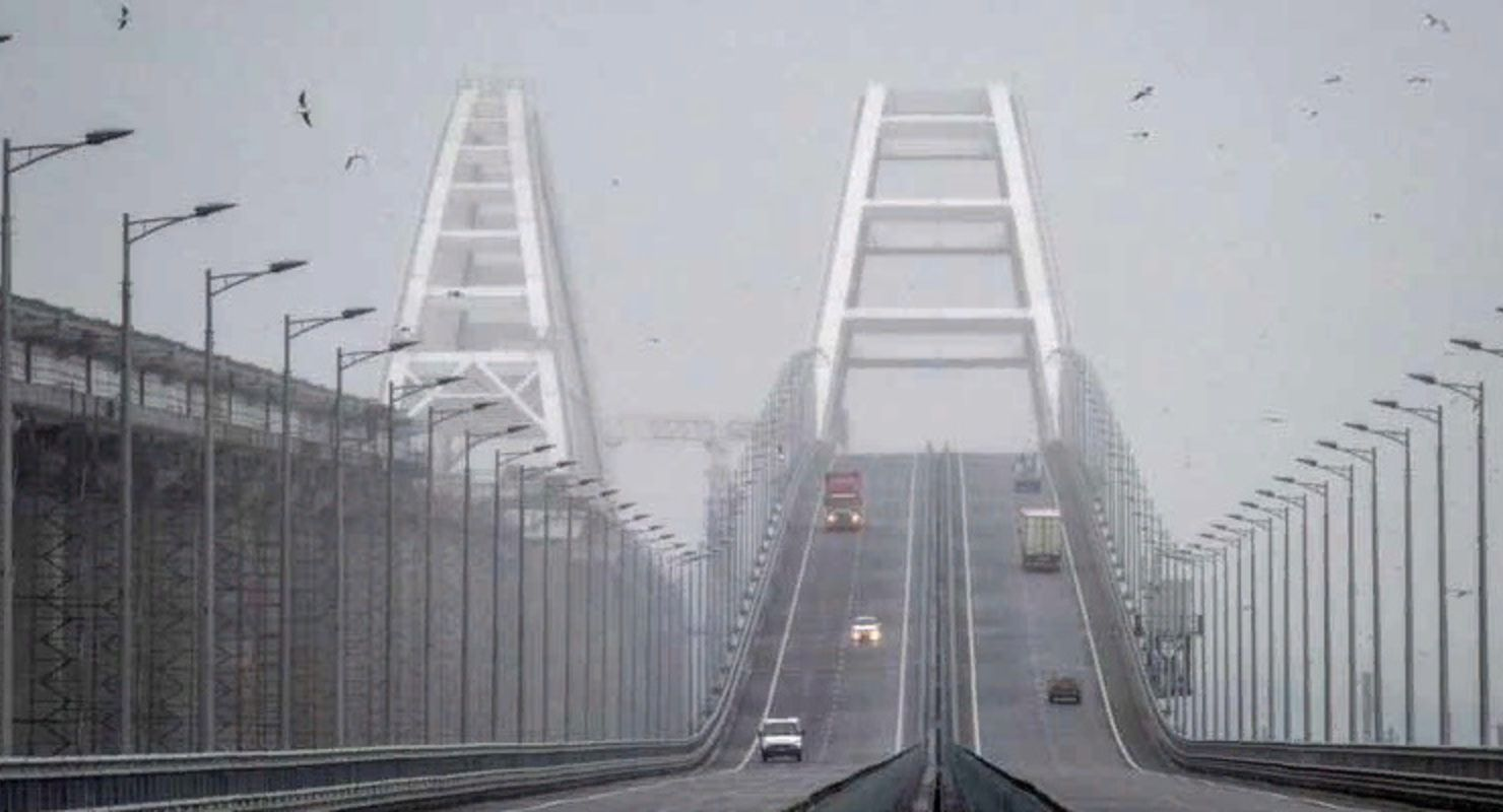 В новогодние праздники 2021 года по Крымскому мосту проехало более 103 тысяч автомобилей Автомобили