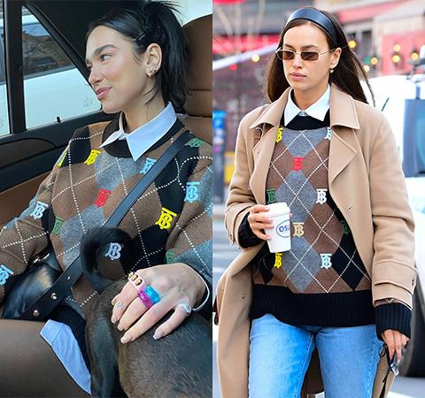 Модная битва: Дуа Липа против Ирины Шейк