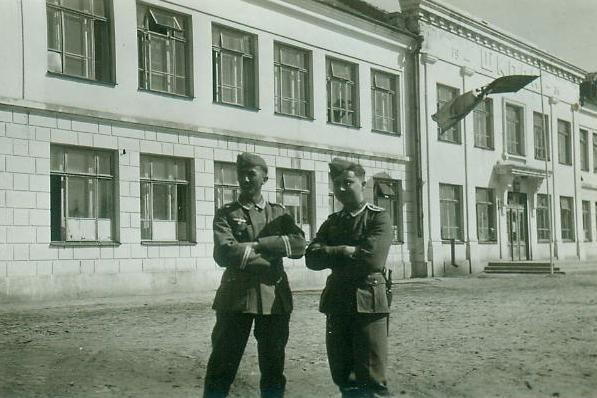 Советская школа в период нацистcкой оккупации