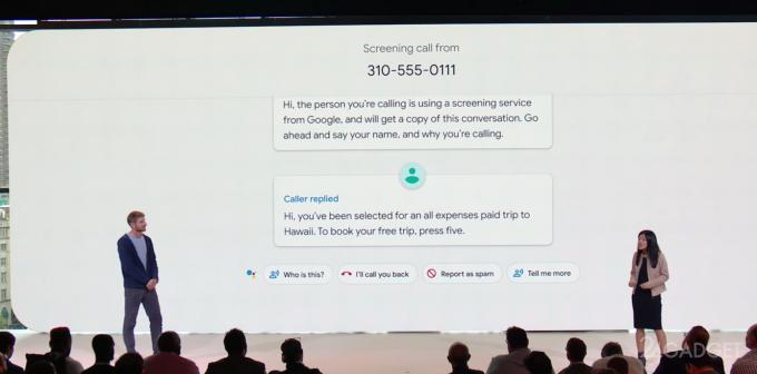 Google Call Screen борется со спамом и звонками от неизвестных (3 фото + видео) смартфон