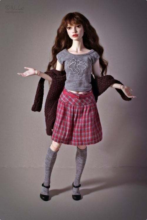 Авторские шарнирные куклы от Натальи Лосевой: такие изящные и нежные куклы,рукоделие,ручная работа,сделай сам