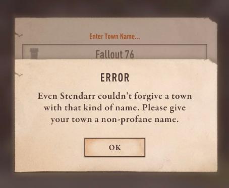 Геймеры сообщают — в The Elder Scrolls: Blades нельзя назвать город в честь великого Тодда Говарда The Elder Scrolls Blades