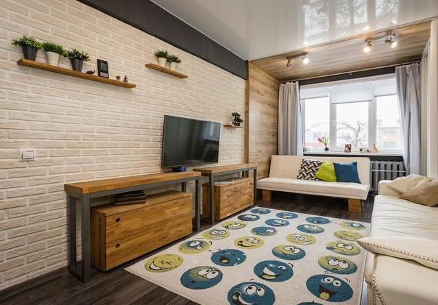 Однокомнатная квартира для 3-х человек