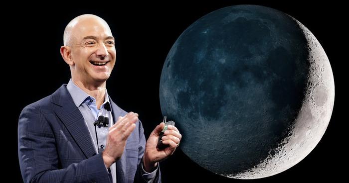Как глава компании Amazon представляет себе колонизацию Луны