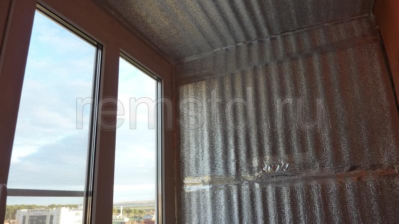 Утепление и объединение балкона с кухней своими руками.