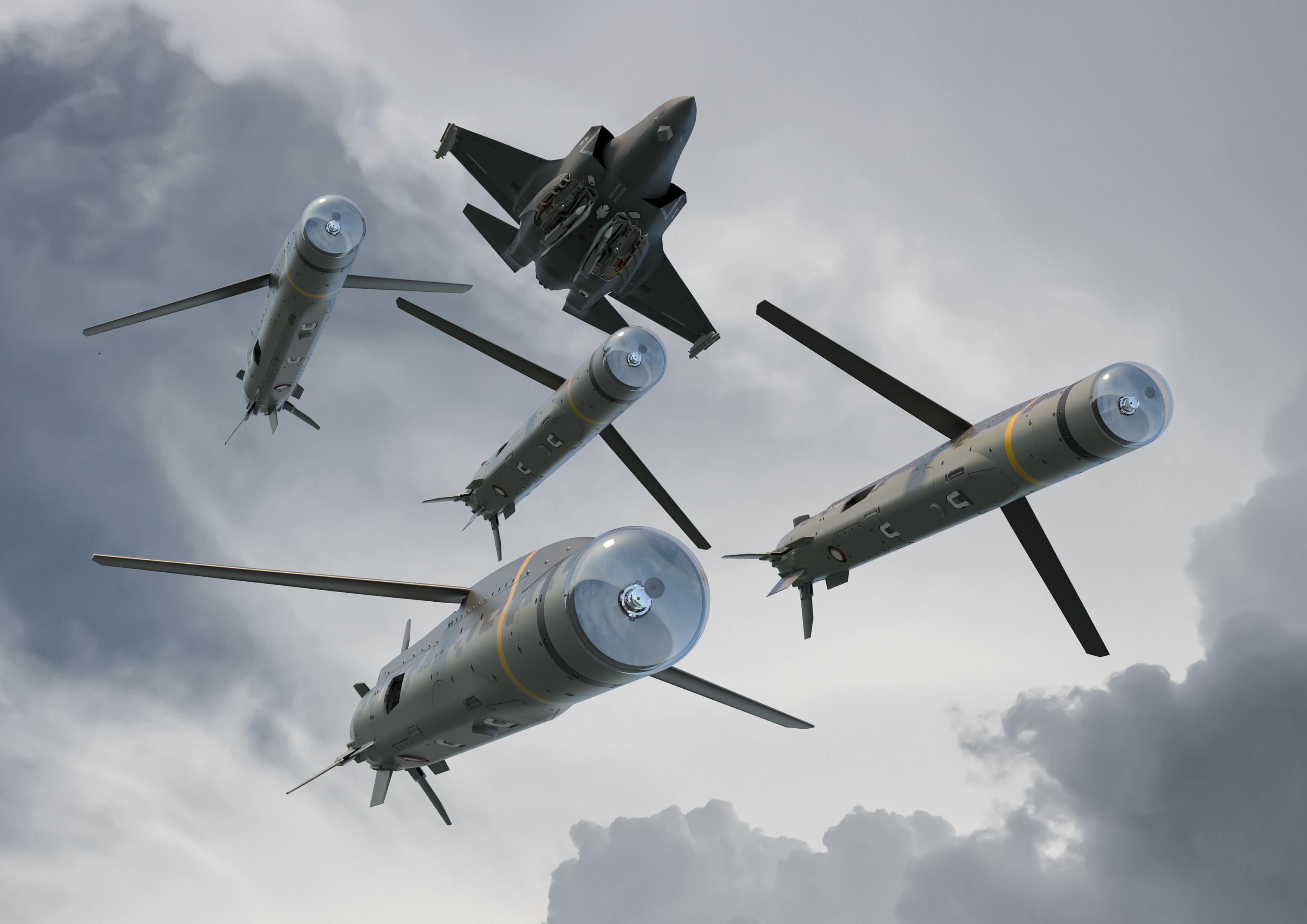Малогабаритные крылатые ракеты SPEAR3 для вооруженных сил Великобритании оружие