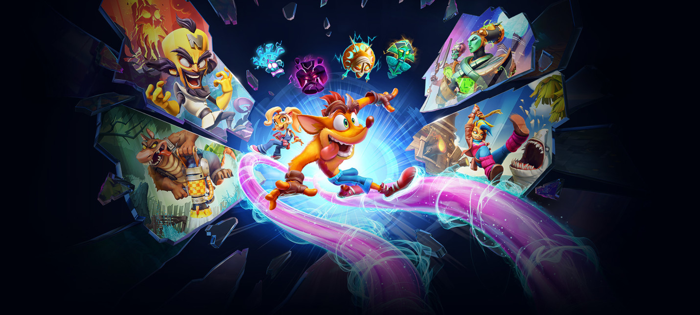 Crash Bandicoot 4: It's About Time выйдет на PC 26 марта action,adventures,arcade,pc,ps,xbox,Аркады,Игры,Приключения