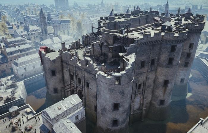 Бастилия - одна из самых известных и страшных тюрем в мире.