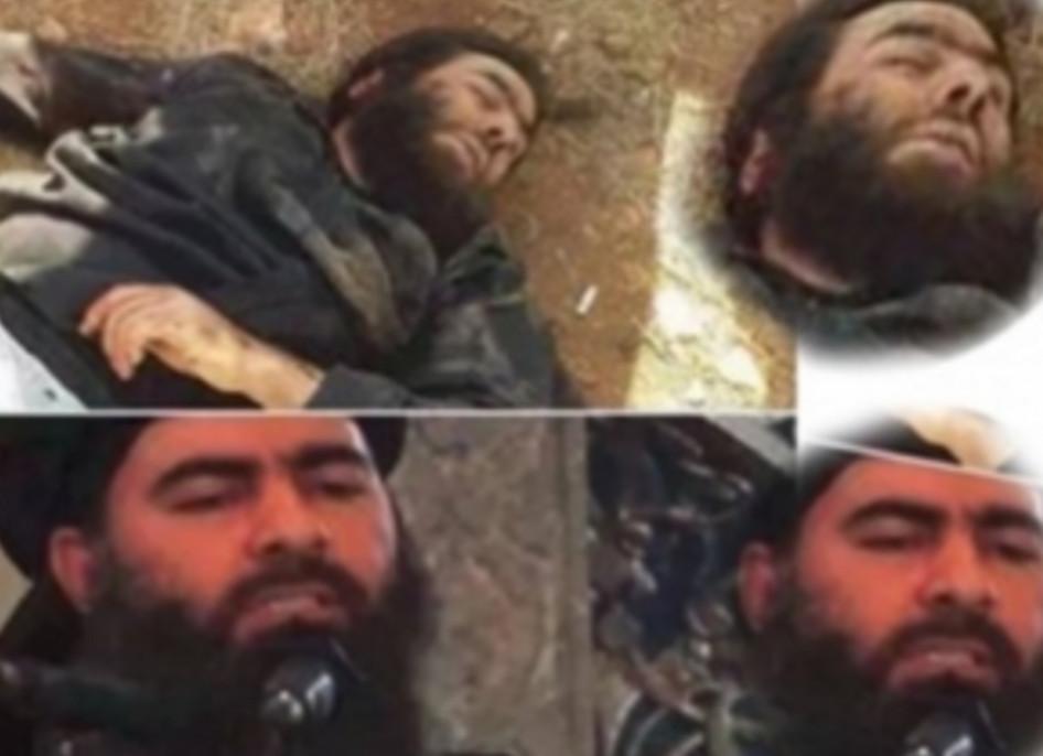 Иранское телевидение опубликовало фото убитого главаря ИГИЛ