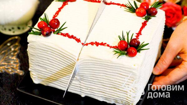 Торт Молочная Девочка фото к рецепту 17