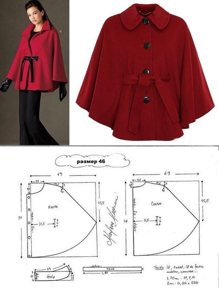 Выкройки пальто женское короткое фото небольшой челкой