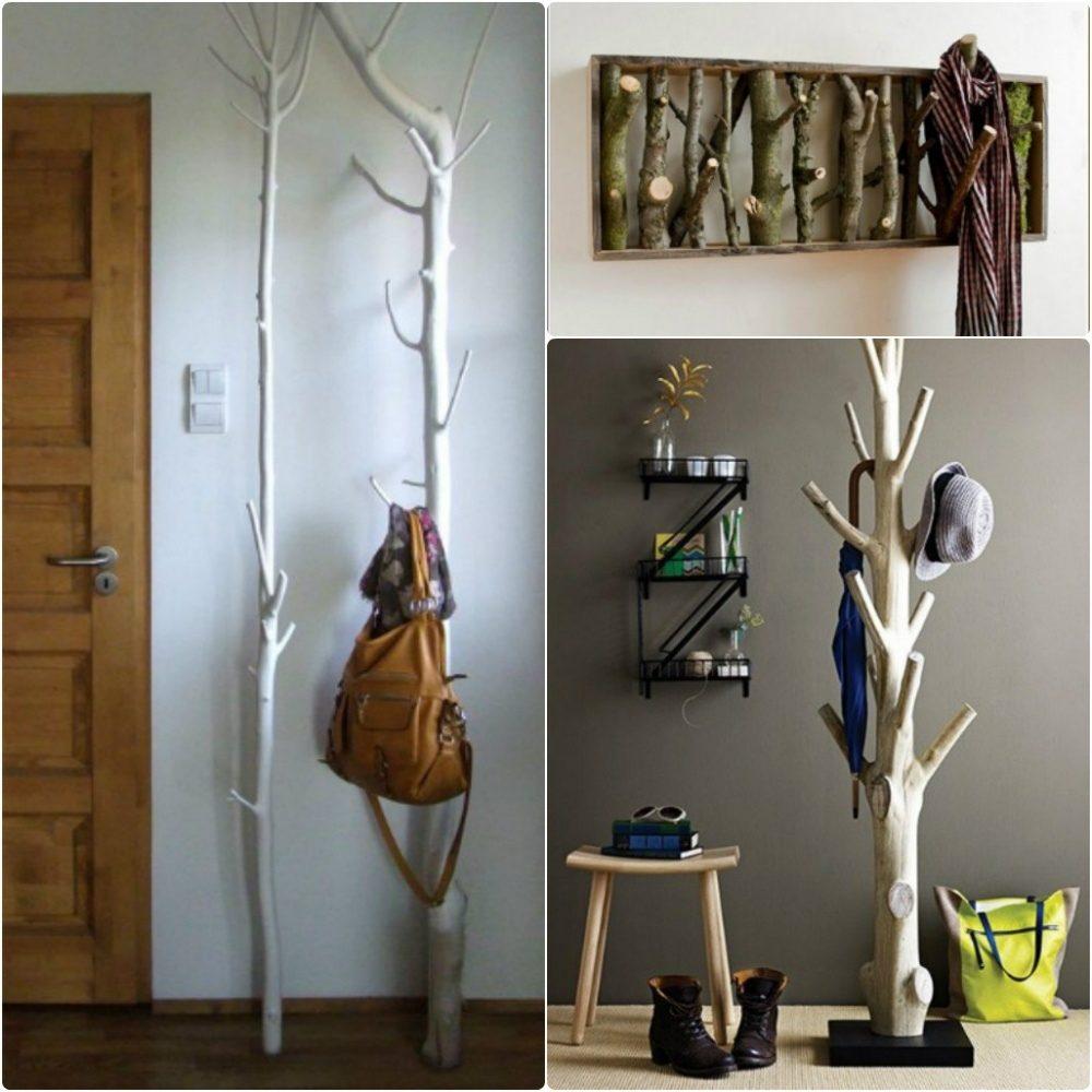 Использование деревьев в декоре дома 0