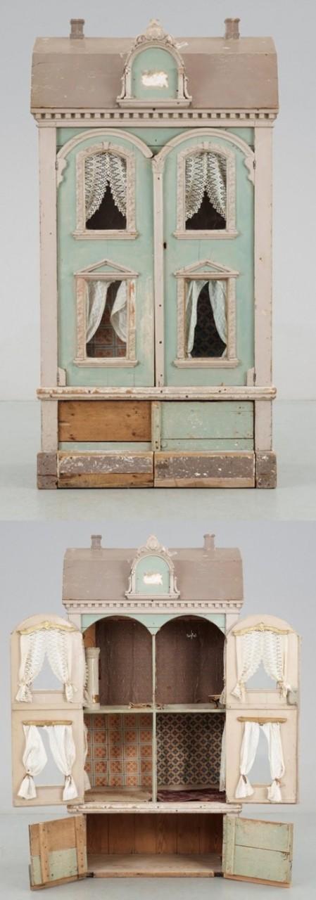 40 Невероятных кукольных домиков, сделанных с душой