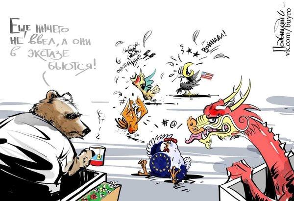 Единственная страна, которая способна противостоять США на мировой арене, это Россия