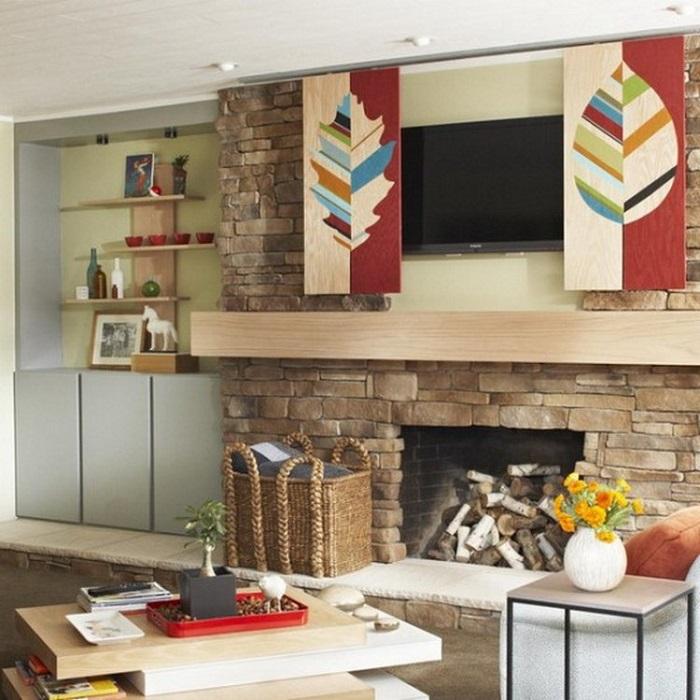 Как хранить вещи в гостиной: 12 идей, подсмотренных у владельцев крохотных квартир