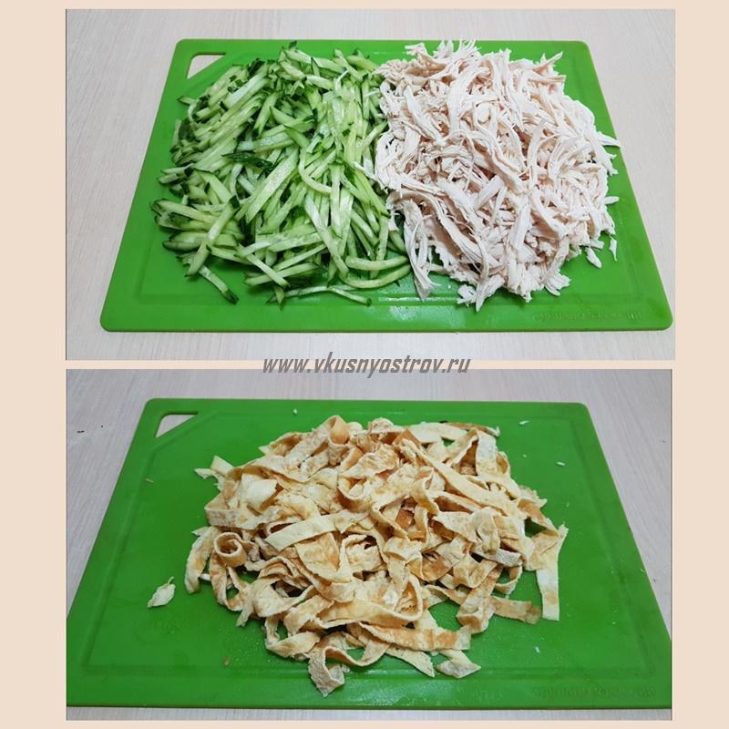 Салат с курицей кулинария,салаты