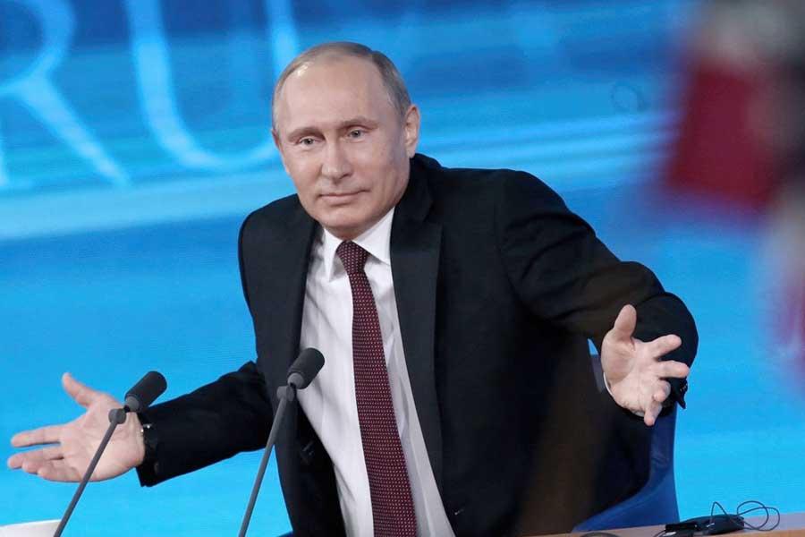 Что ж ты, Путин, сдал назад…