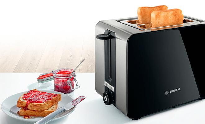 Тостер Bosch TAT7203 вывел приготовление тостов на новый уровень