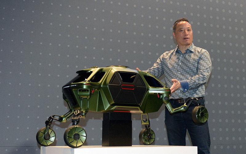 Hyundai разработала шагающий автомобиль