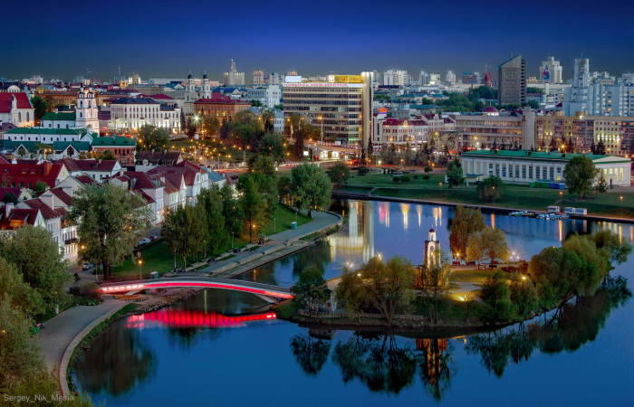 Минск - столица Беларуси.