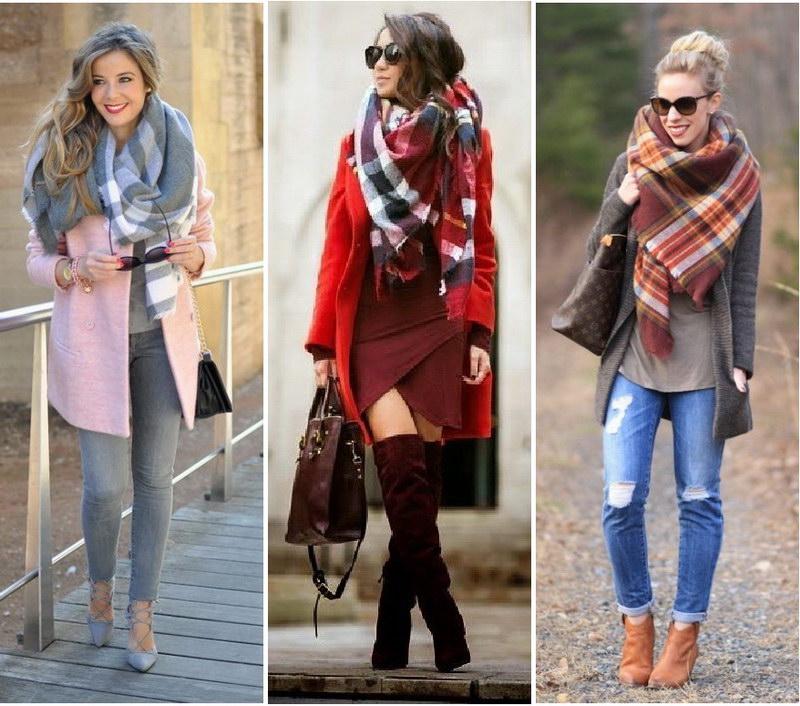 как красиво завязать шарф на пальто фото телефоны наше время