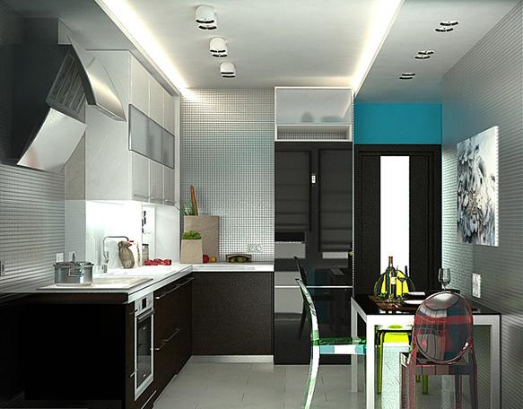 Дизайн кухни от Антона Шляпина