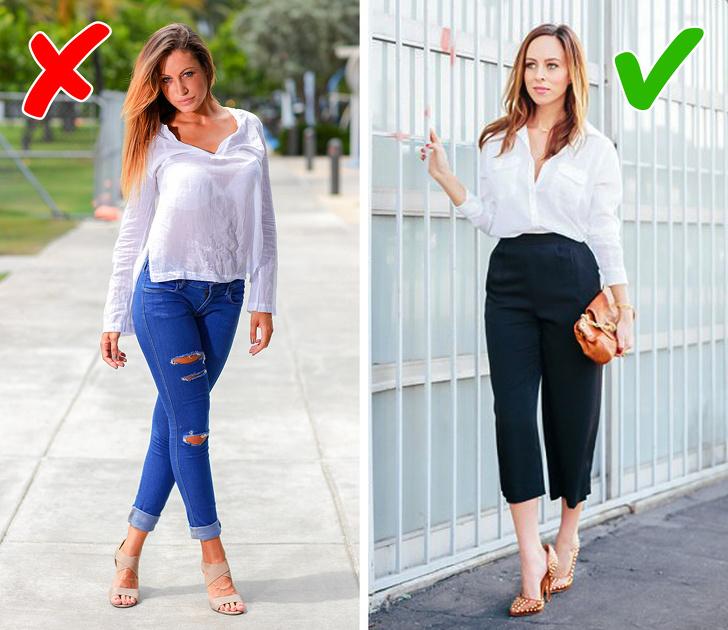 10ошибок всочетании одежды, которые мешают вам выглядеть стильно
