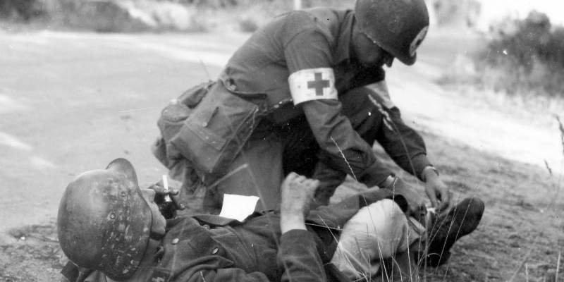 Рану надо промыть война, история, медицина