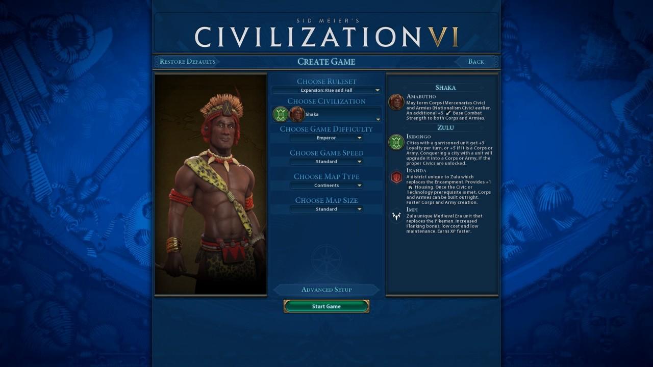 Обзор Civilization 6: Rise and Fall