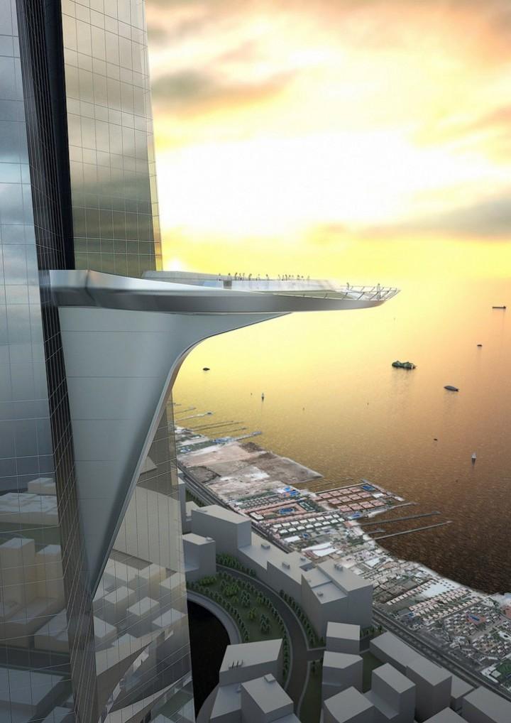 Строительство небоскреба высотой в один километр