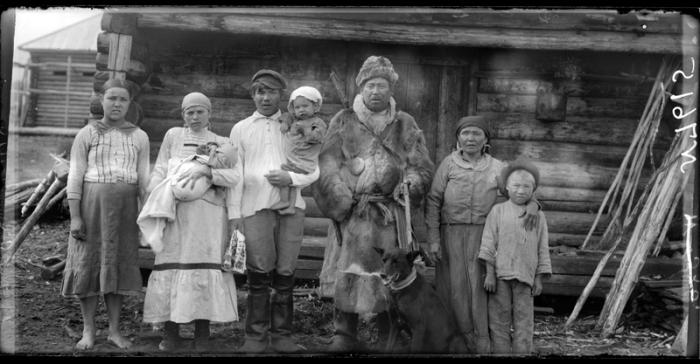 Древние народы, проживавшие на территории России