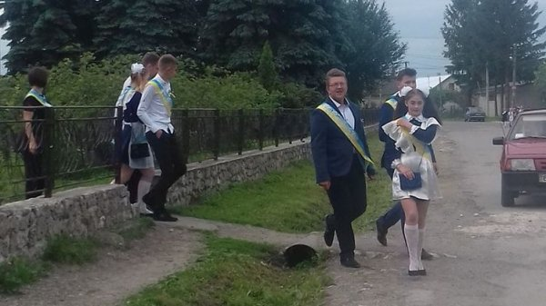 На Тернопольщине выпускники …