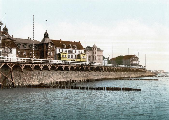 Так выглядел городок в 1900 году.