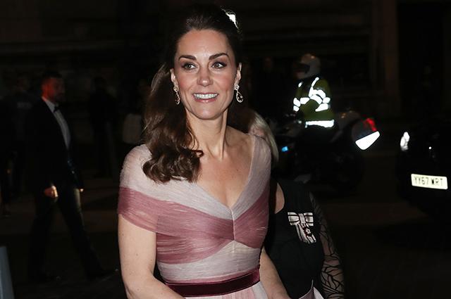 Кейт Миддлтон посетила гала-ужин в Музее Виктории и Альберта